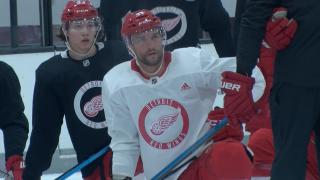 Luke Glendening's summer: get married, become Red Wings alternate captain