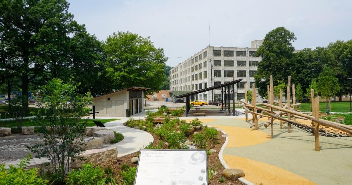 Grand Rapids celebrates reopening of Roberto Clemente Park - Fox17