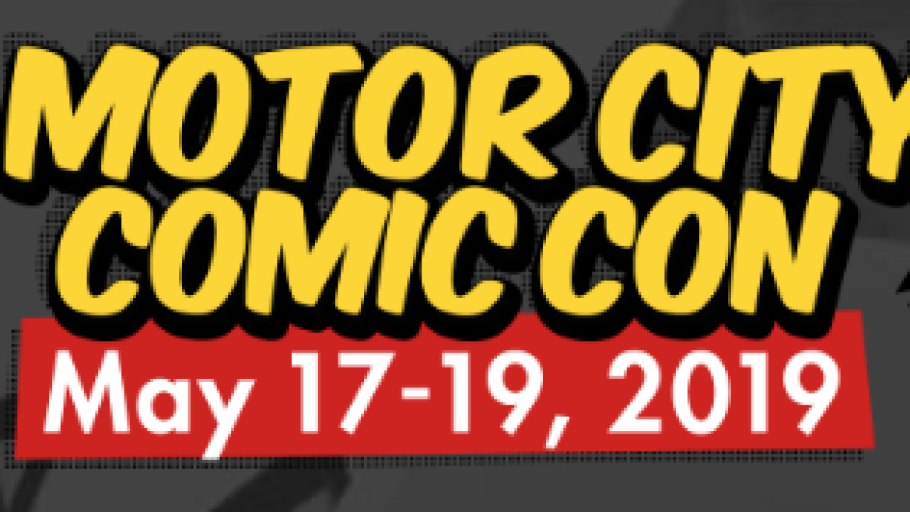 Motor City Comic Con to live stream this year's convention