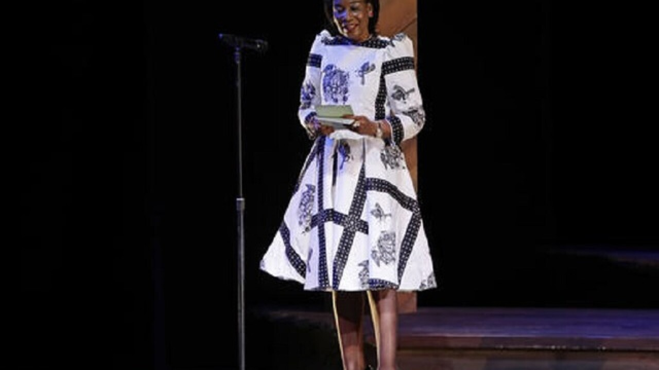 Michelle Obama hosts Broadway event with aim of educating girls