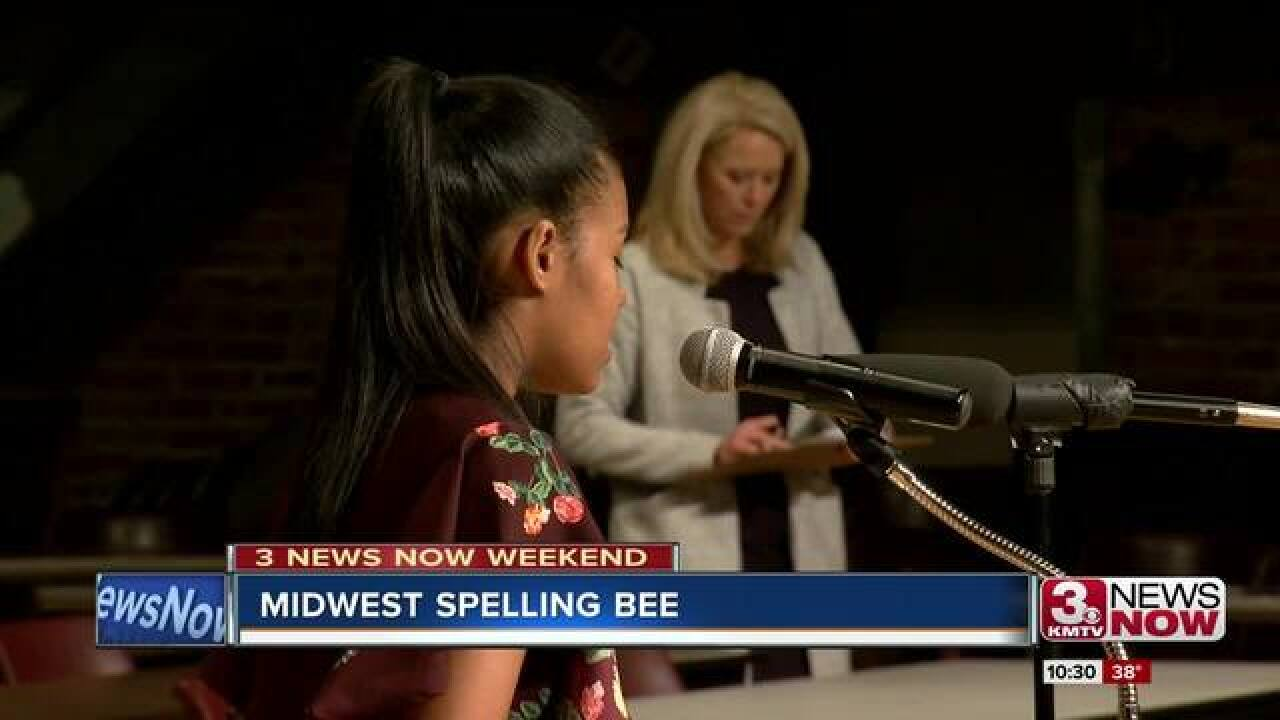 Stephanie Lewis wins Midwest Spelling Bee