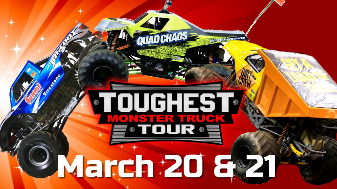 Monster Truck Tour 2020 The Toughest Monster Truck Tour 2020 tickets go on sale Friday