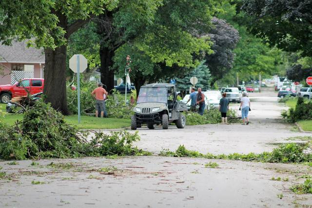 PHOTO GALLERY: After the storm: Cass County