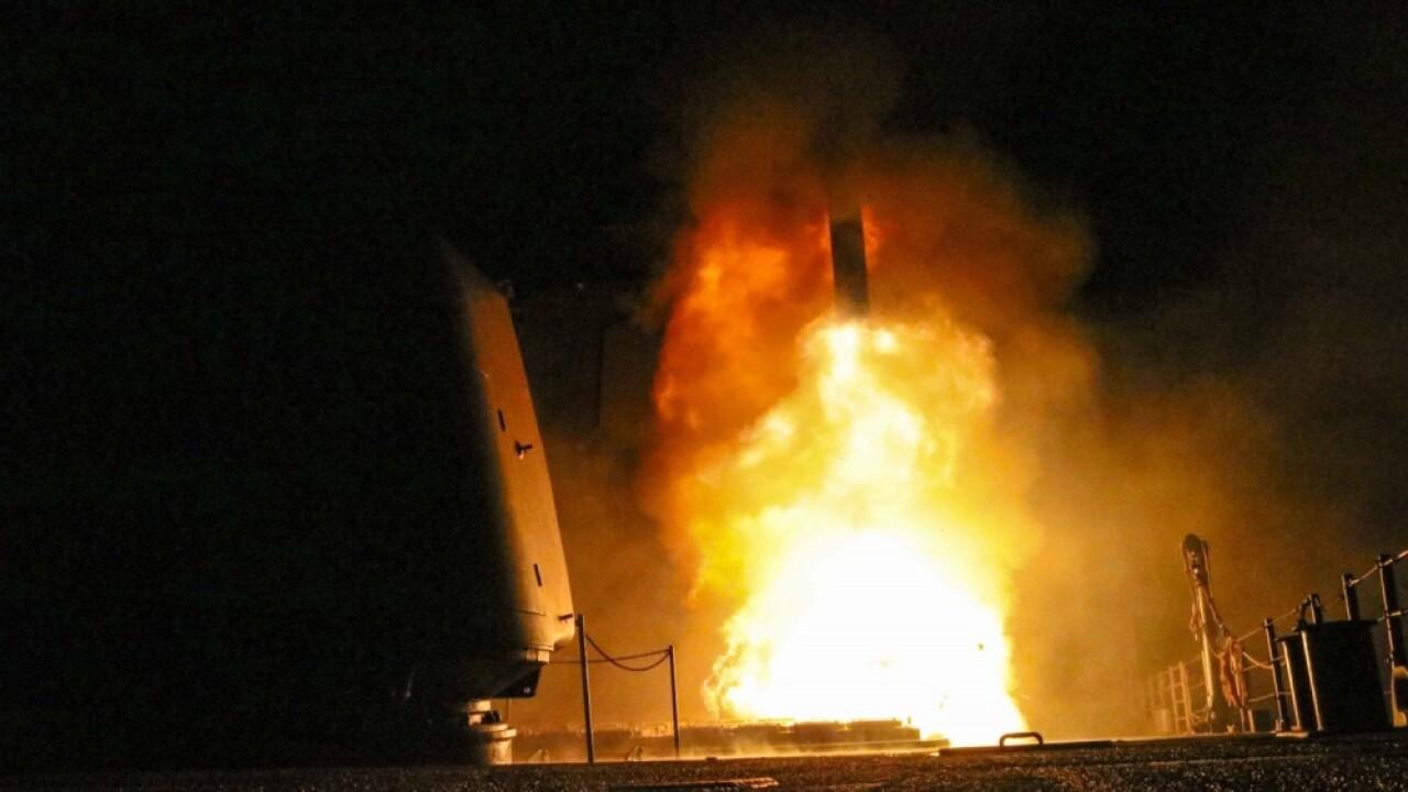 Norfolk-based ships, submarine involved in Syriastrikes