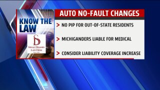Know the Law – Auto No-Fault Changes