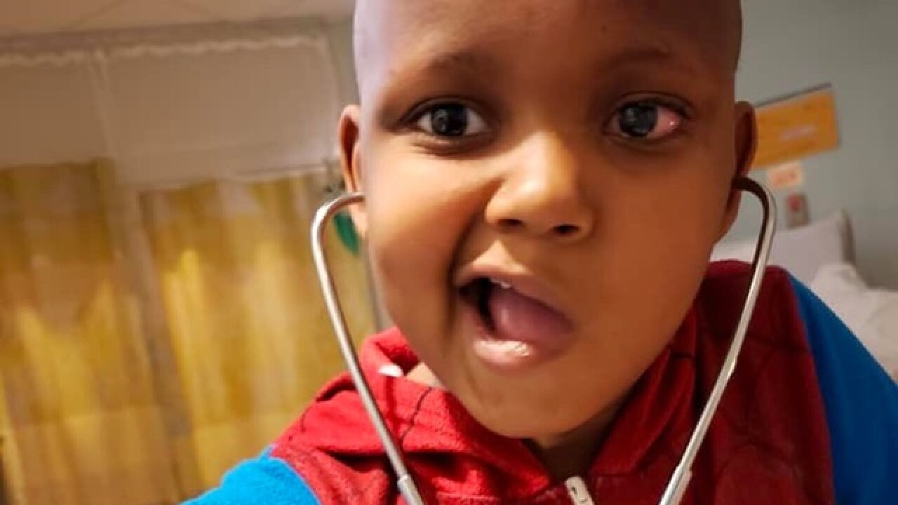 Ohio family requests Christmas cards for 6-year-old battling brain cancer
