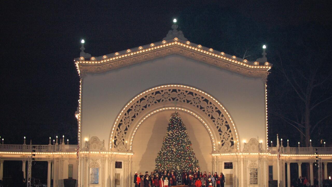 Balboa Park December Nights
