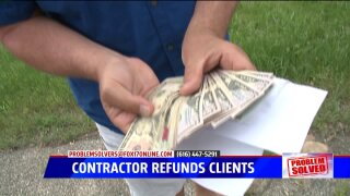 Problem Solved: 'No-show' contractor refunds couples after months of frustration