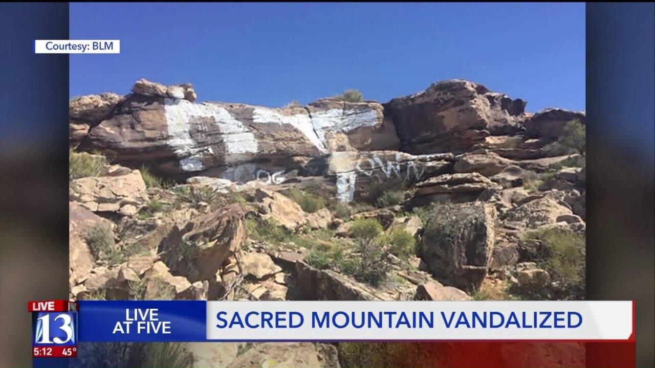 BLM seeks information on sacred Paiute mesa vandals, offersreward