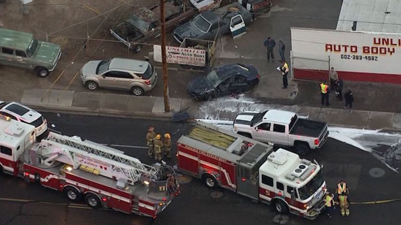 Serious crash at 24th Street and Virginia Avenue