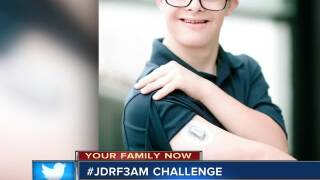Omaha mom shares #JDRF3AM challenge