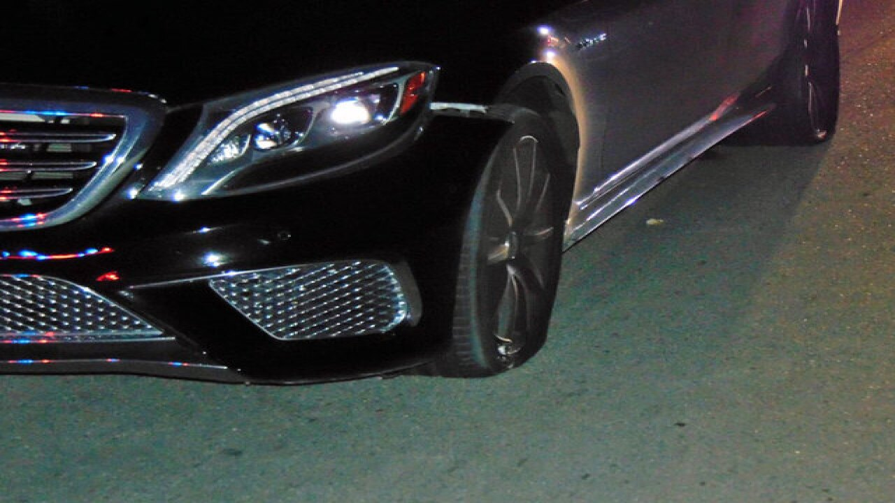 Tiger Woods DUI car photos released
