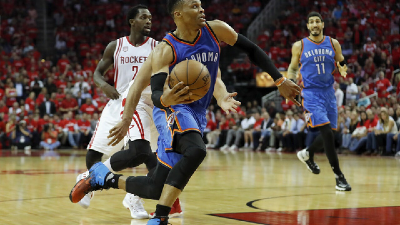 Russell Westbrook signs five-year, $205 million extension with Thunder