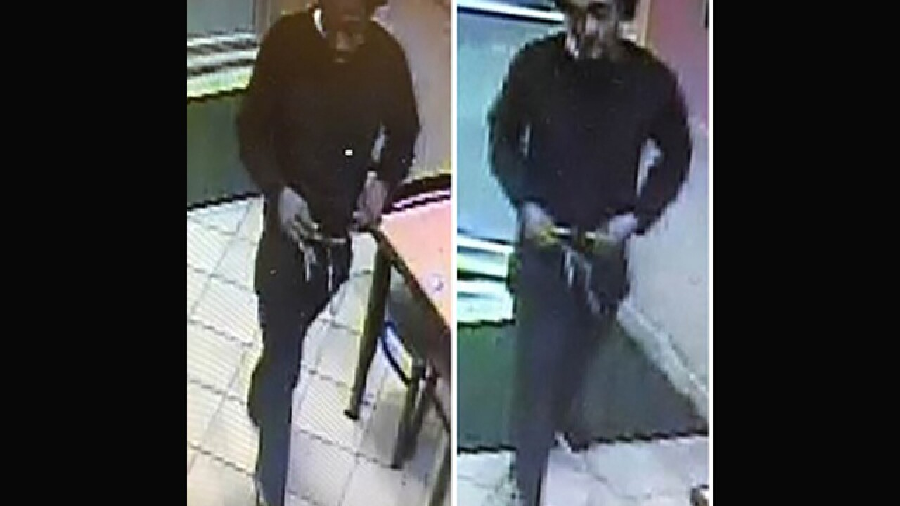 Police search for Subway robber