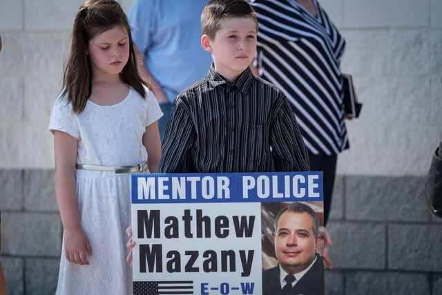 PHOTOS: Mentor lays fallen officer Mathew Mazany to rest