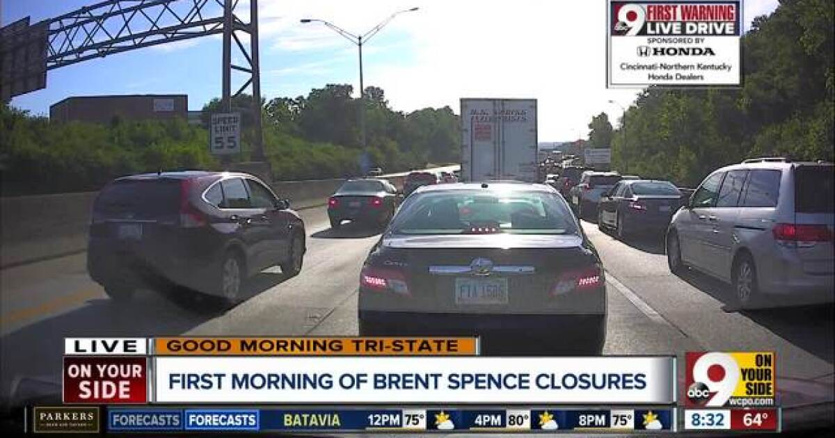 9 things to know as Brent Spence Bridge construction begins