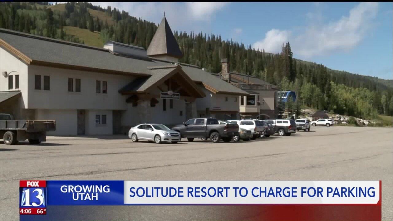 Solitude will charge up to $20 per vehicle for parking this season