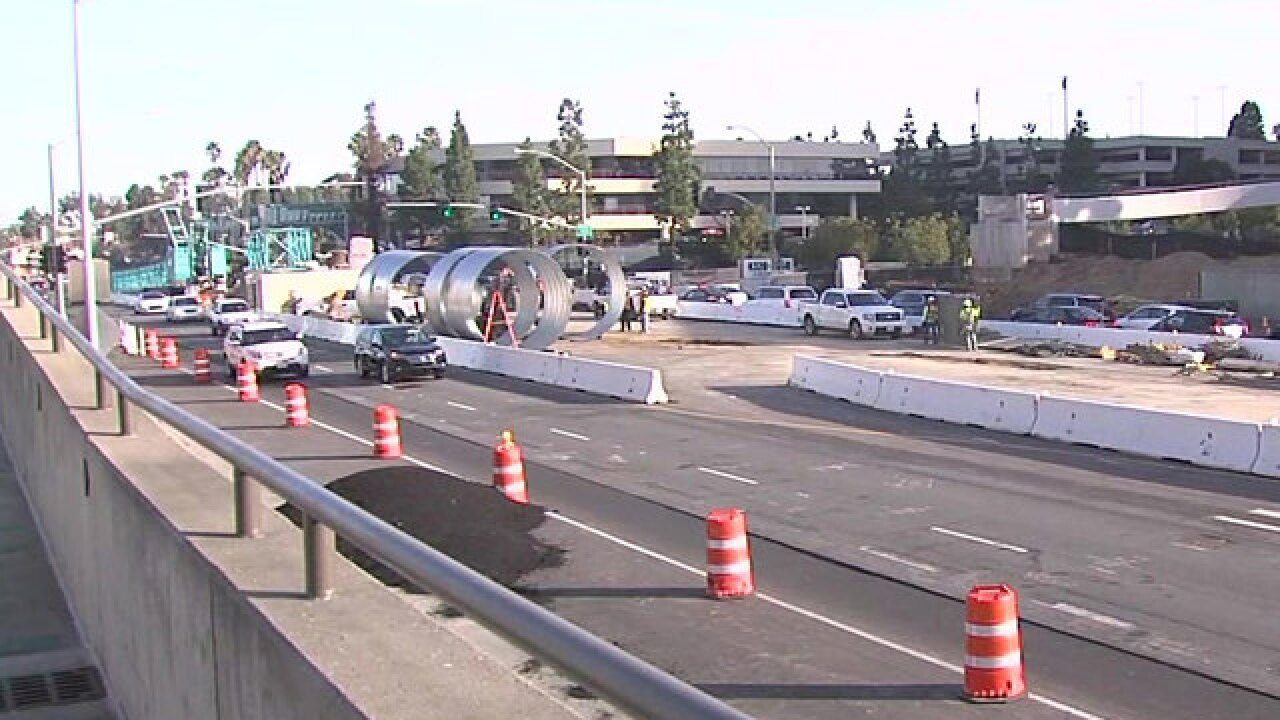 SANDAG warns of overnight closure along I-5