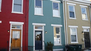 Home Tour: This Tiny Row House, like its history, is colorful and full of surprises