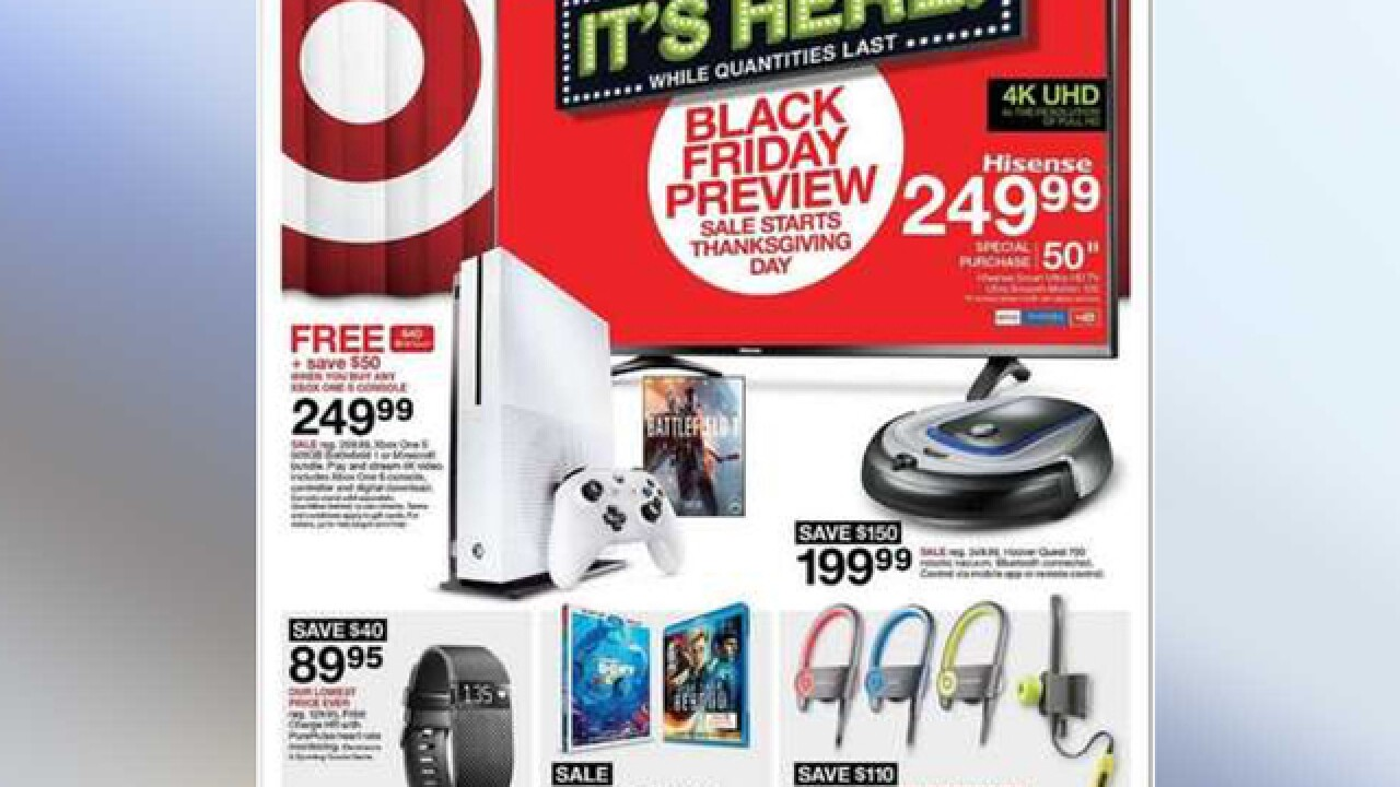 Target Black Friday ad is released