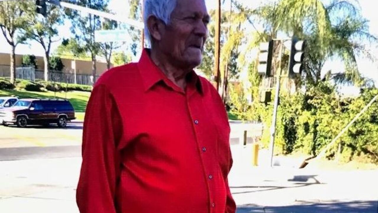 Missing 84-year-old man found safe, according to Escondido Police