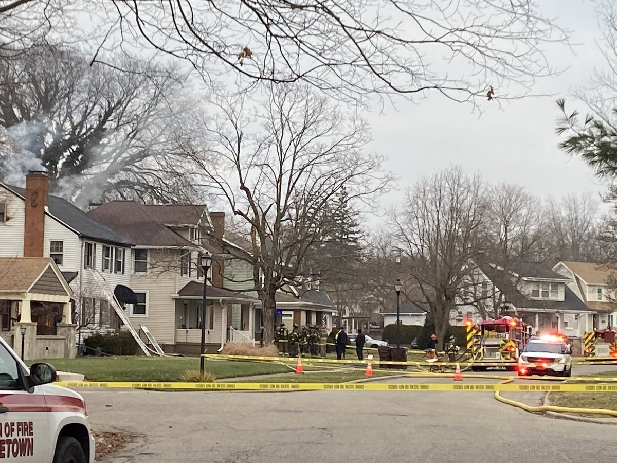 Middletown house explosion on Fleming Rd