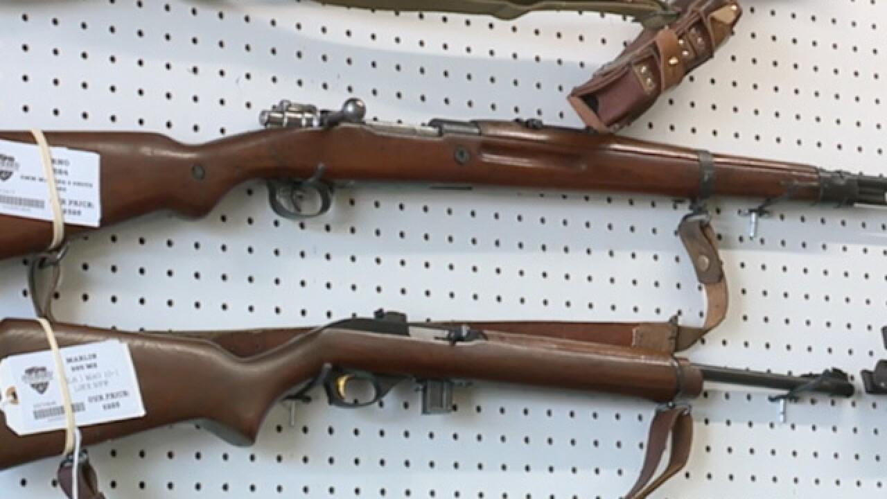 Gun store break-ins, stolen firearms on the rise