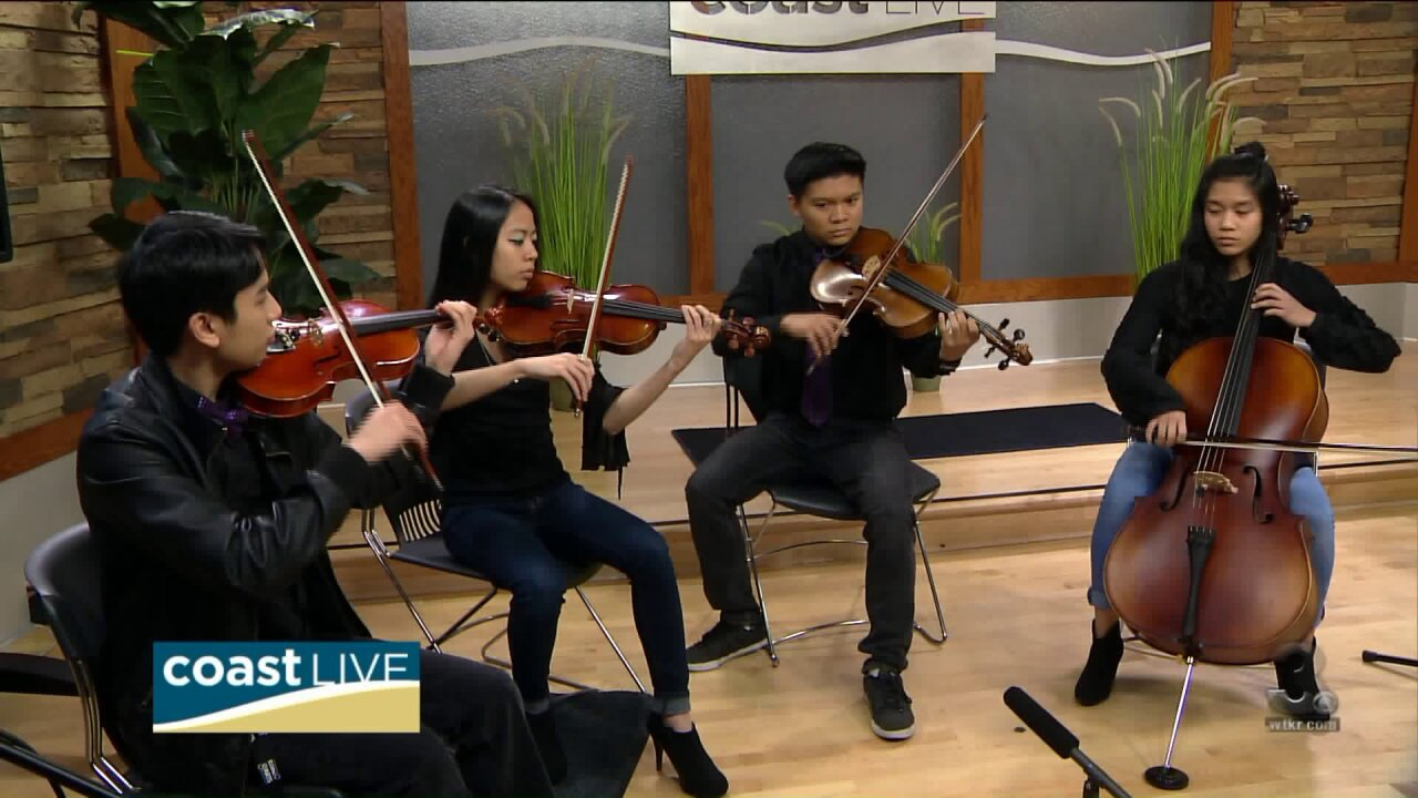 Local Music Spotlight with the Governor's School of the Arts on CoastLive