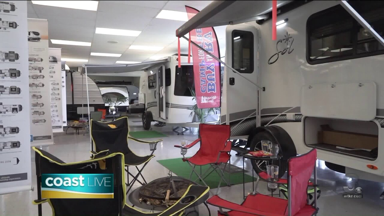 Previewing the Great Atlantic RV Show on Coast Live