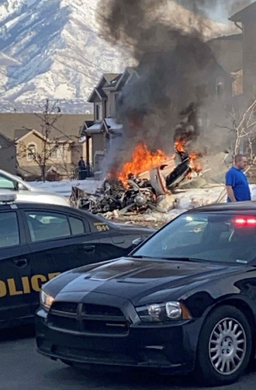 Photos: Pilot killed in small plane crash in Roy neighborhood identified