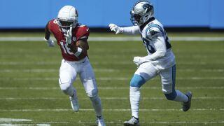 Cardinals Panthers Football