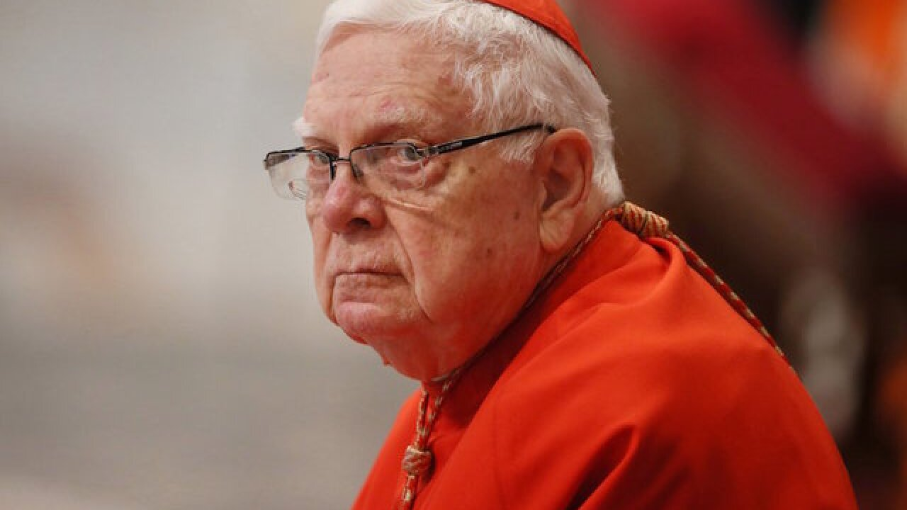 Pope's role in disgraced cardinal's funeral draws outrage