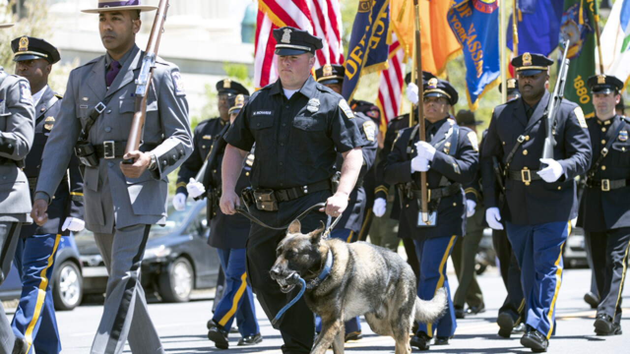 Governor Cuomo honors fallen police officers