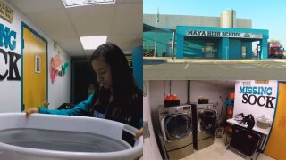 School adds laundry room to help struggling students, combat absences