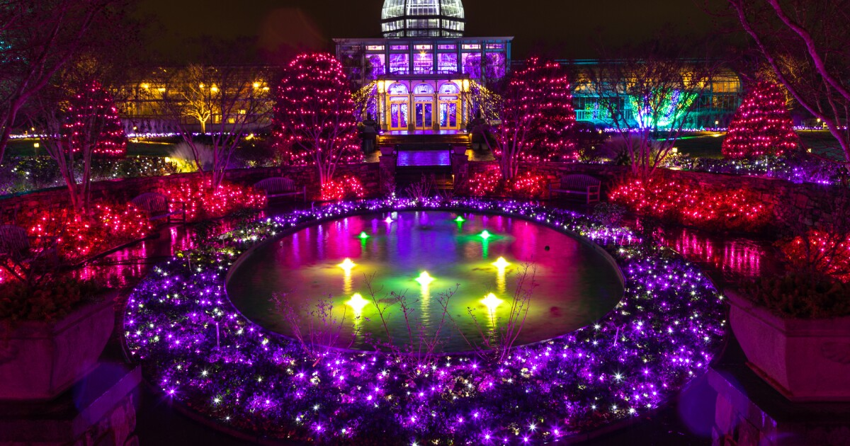 🎄 GardenFest of Lights named #2 Christmas display by USAToday