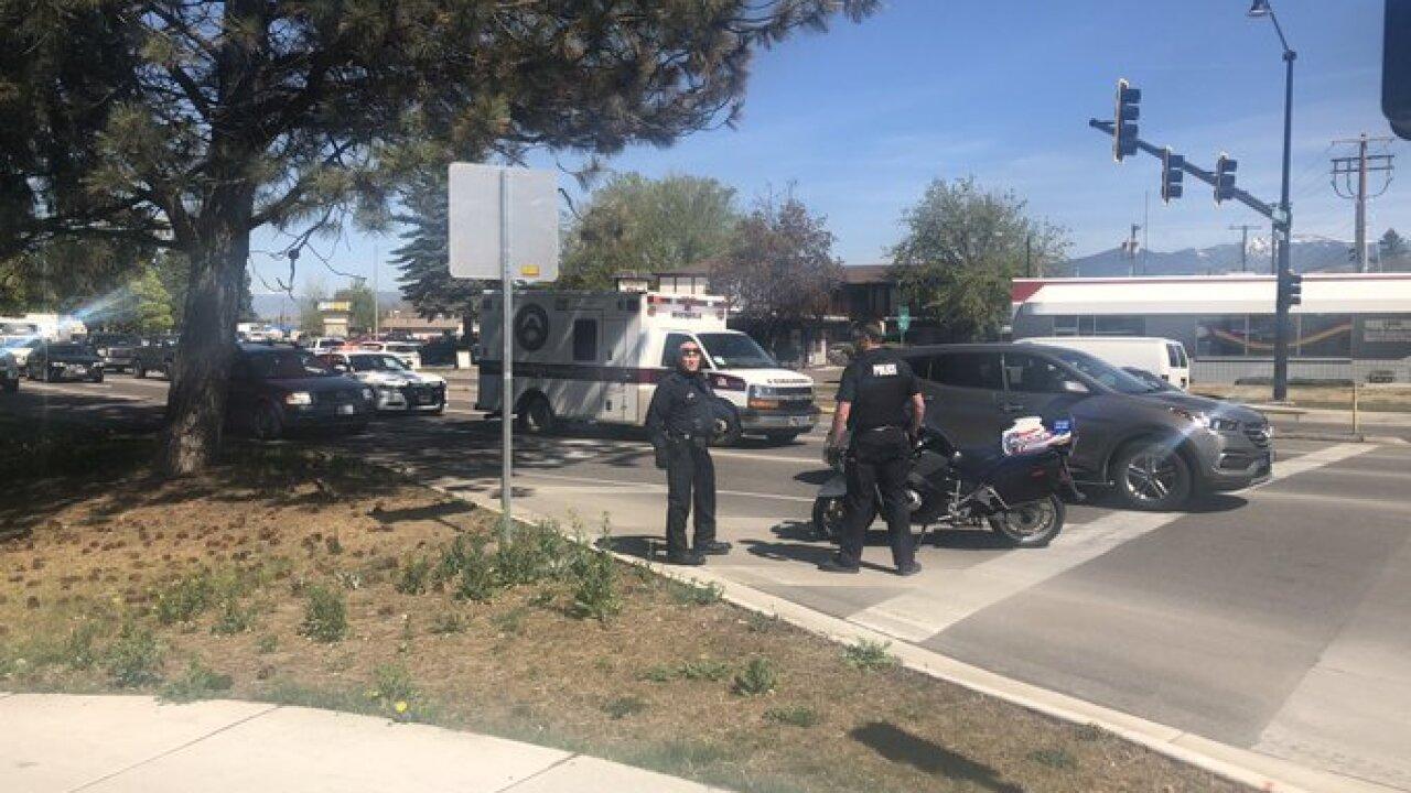 MESI Stolen Ambulance
