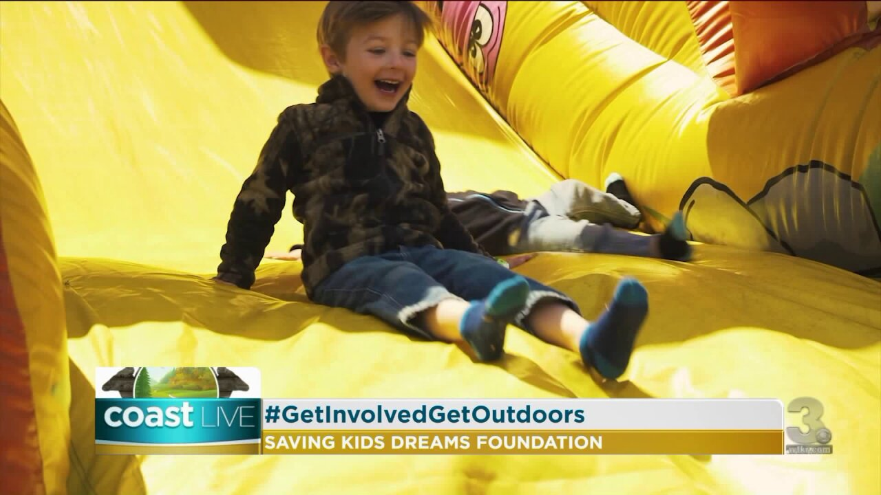 An organization that encourages children to get outdoors and active on CoastLive