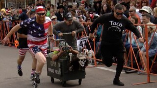 Coffin racing: the yearly death rattle dash through Manitou