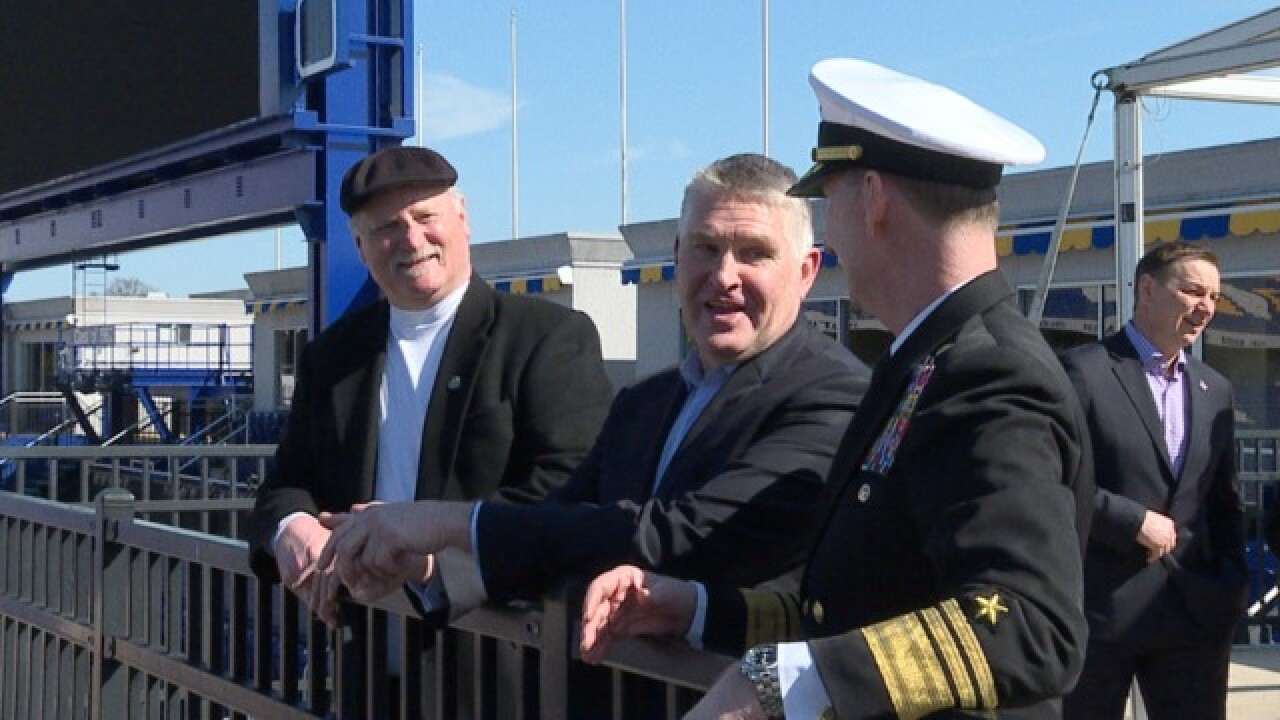 NHL turning Navy's stadium into outdoor NHL rink