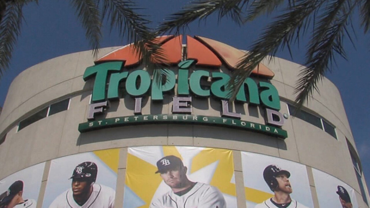 Astros to play Rangers and Mets at Tropicana Field due to Hurricane Harvey
