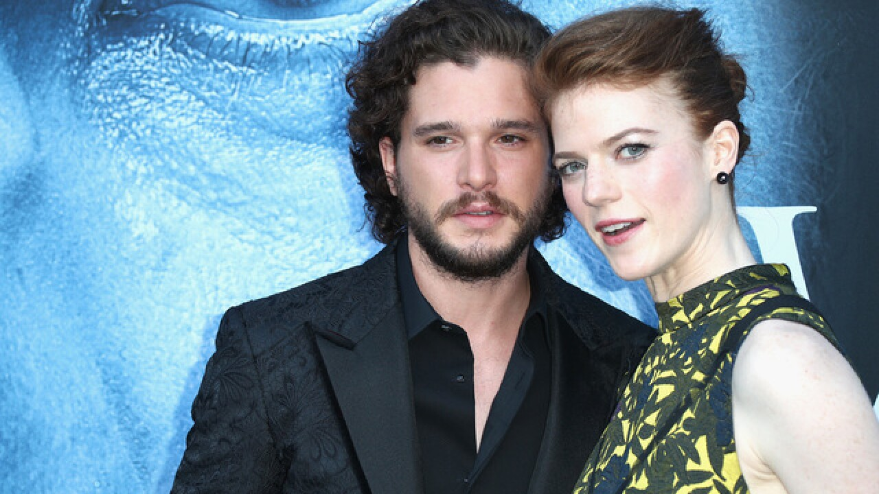 Kit Harington and Rose Leslie are engaged