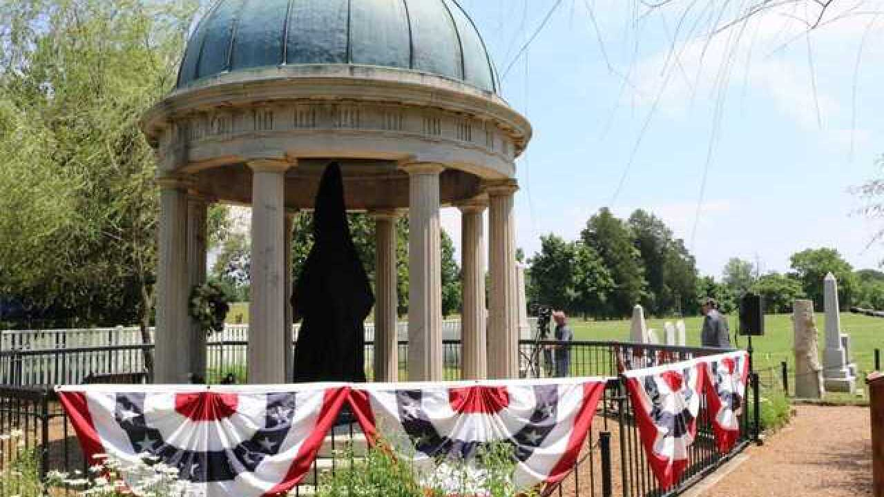 Newly Restored Andrew Jackson Tomb Unveiled