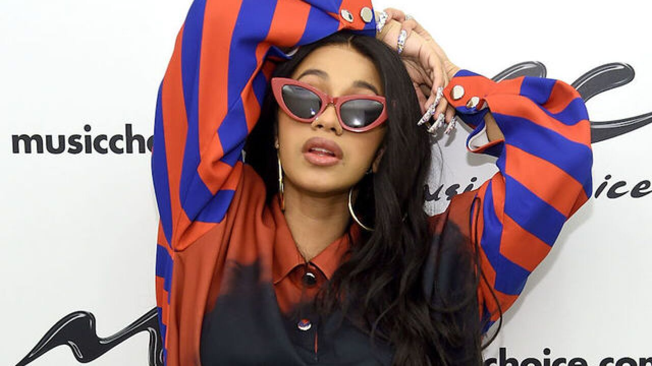 Cardi B becomes first female rapper with two Hot 100 No. 1 hits