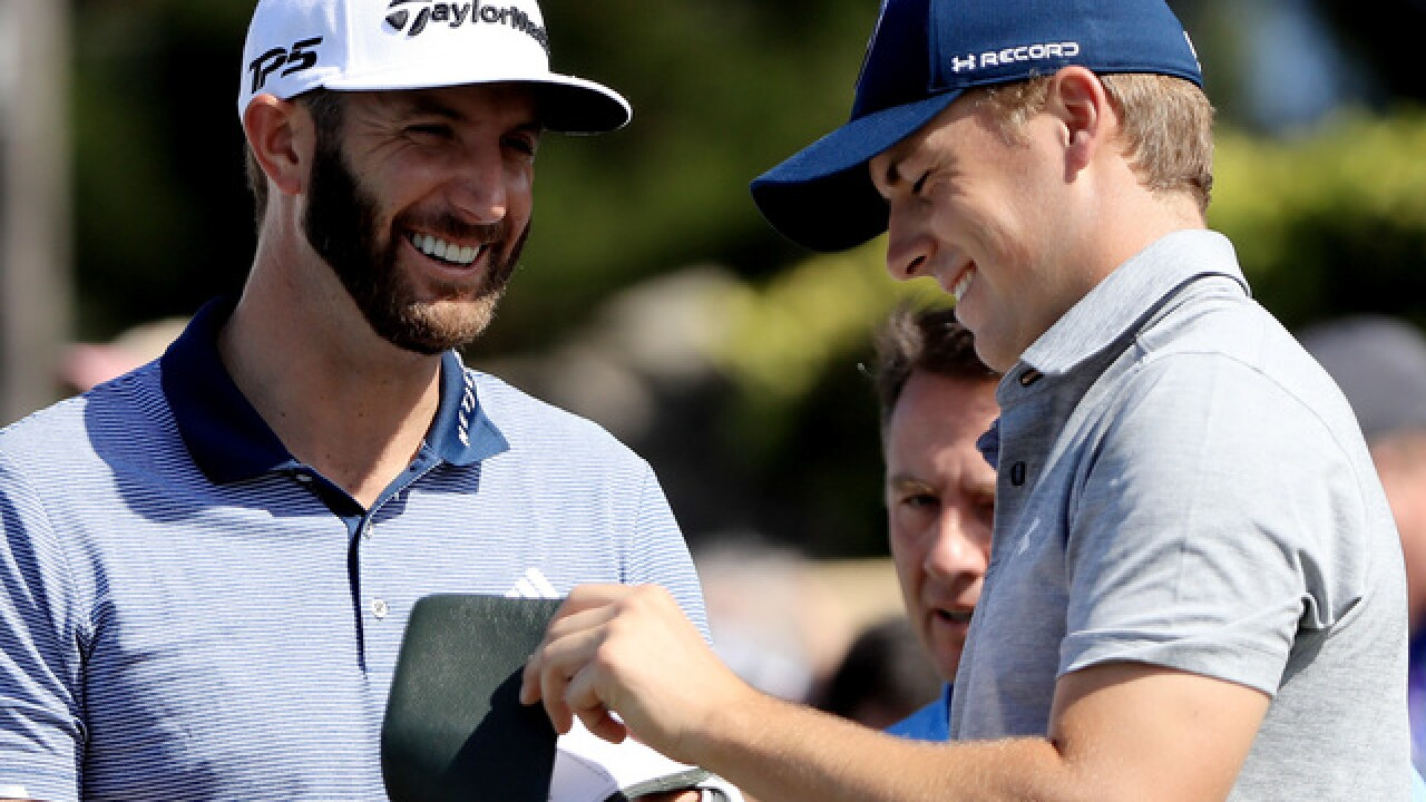Dustin Johnson, Jordan Spieth, Martin Kaymer paired together for U.S. Open at Erin Hills