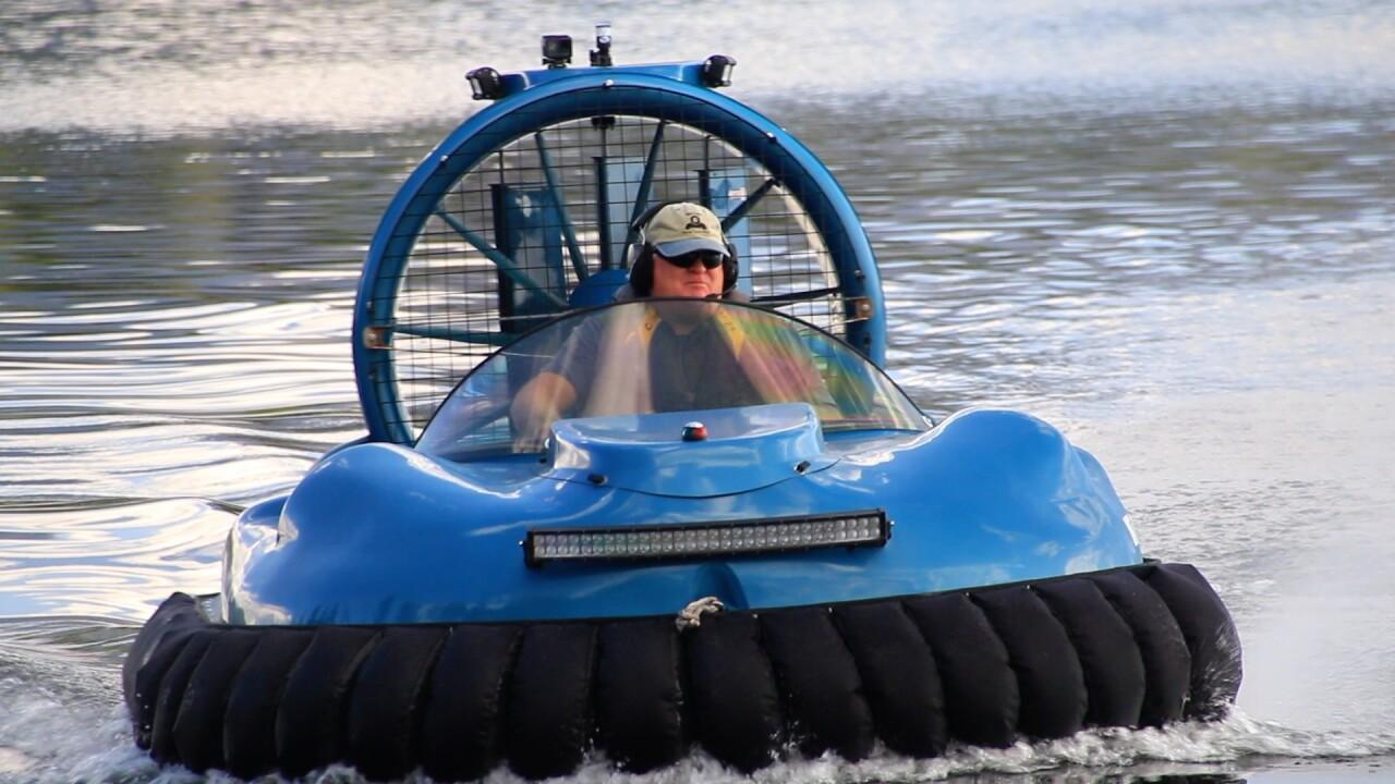 Hovercraft Jim Crews