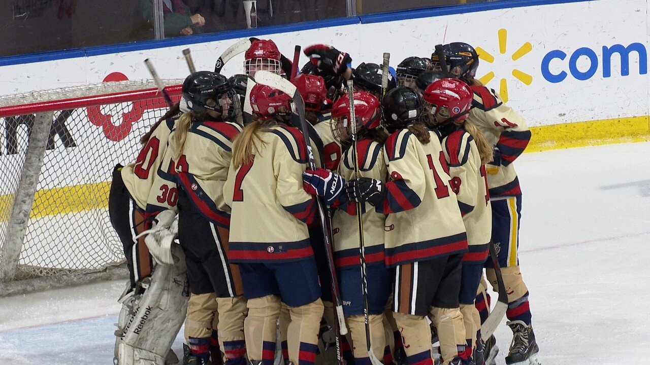 Williamsville Beats Potsdam 6 1 Will Play For Nysphsaa Girls Hockey
