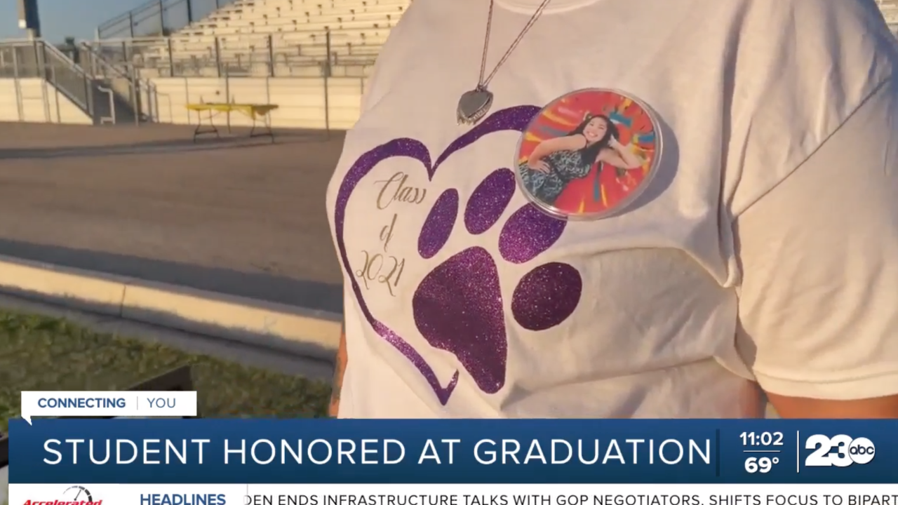Student who died in 2018 remembered by friends and loved ones during Ridgeview graduation