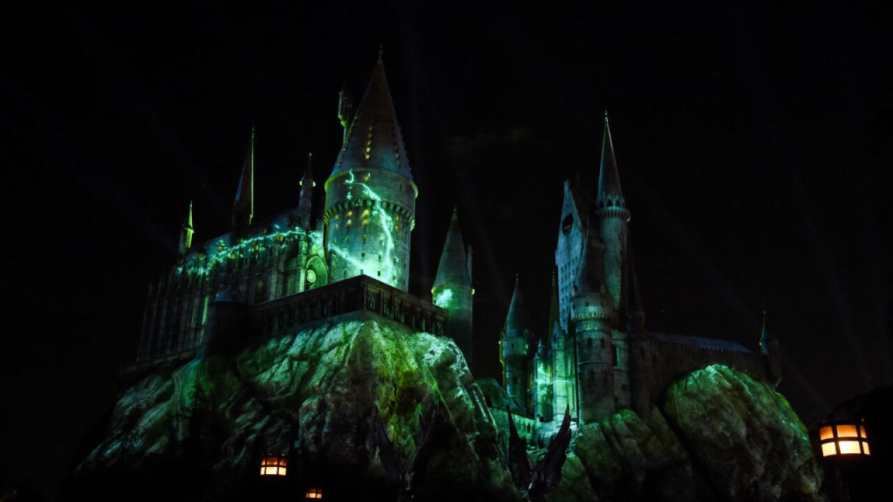 Universal Studios Hollywood Media Preview For The Dark Arts At Hogwarts Castle