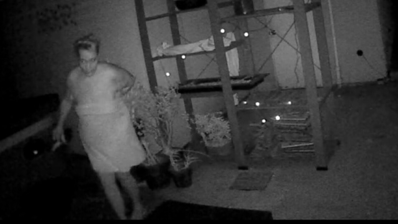 Caught on video: Intruder takes dip in hot tub