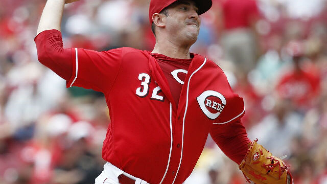 Will he stay or go? Reds starter Matt Harvey happy either way